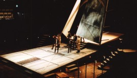 <p>Bühnenbild, Opera Colorado, Denver, Colorado<br /> Julius Rude, director</p>